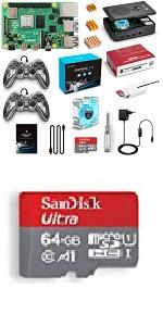 LABISTS Raspberry Pi 4 Model B Kit de 2 GB con SD de 32GB Clase 10, Ventilador, 3 Disipadores de Calor, Micro HDMI, Lector de Tarjetas, Caja Negra y Destornillador: Amazon.es: Electrónica