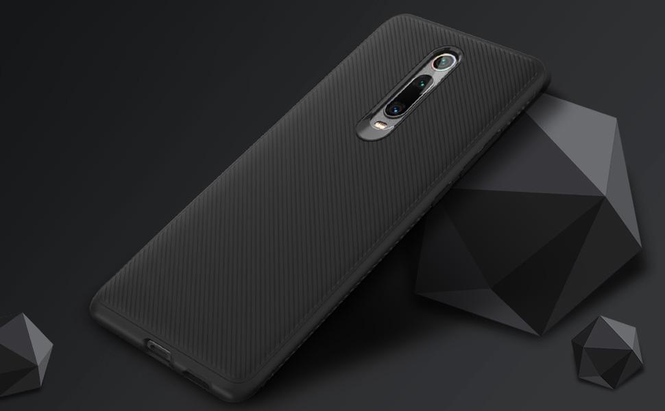 Xiaomi Mi 9T / PRO Cover Thin Fit Gomma Rosso