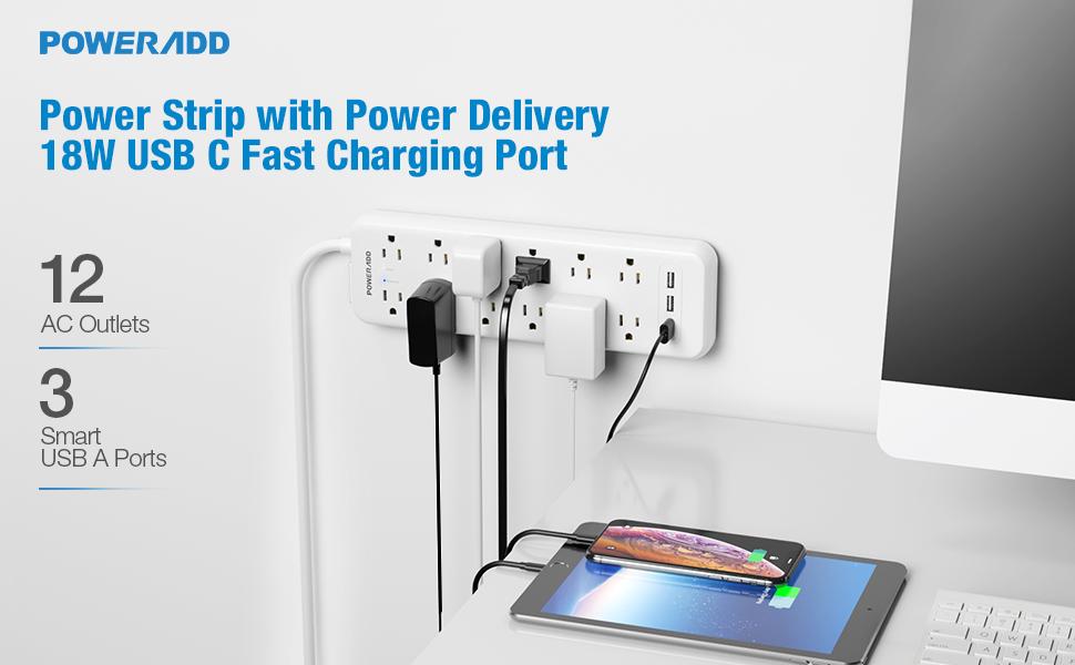 power strip long cord outlet strip usb surge protector power bar power strip with long cord