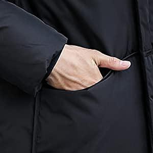 メンズ ダウンコート ロング コート ダウンジャケット 秋冬 無地 ビジネス 防風 防寒 大きいサイズ