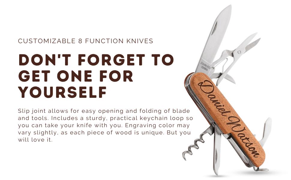 custom multitool knives