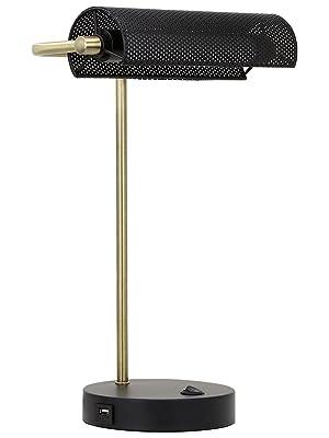 led desk lamp banker's lamp desk lamp with usb end table lamp reading light bedside lamp piano lamp