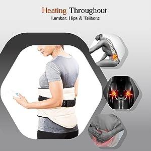 heating belt for lumbar pain