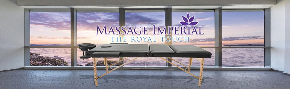 chalfont noir table de massage