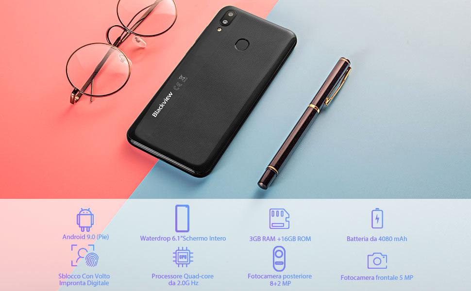 Blackview A60 Pro smartphone economici