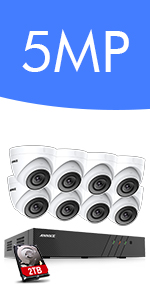 5mp poe security camera system
