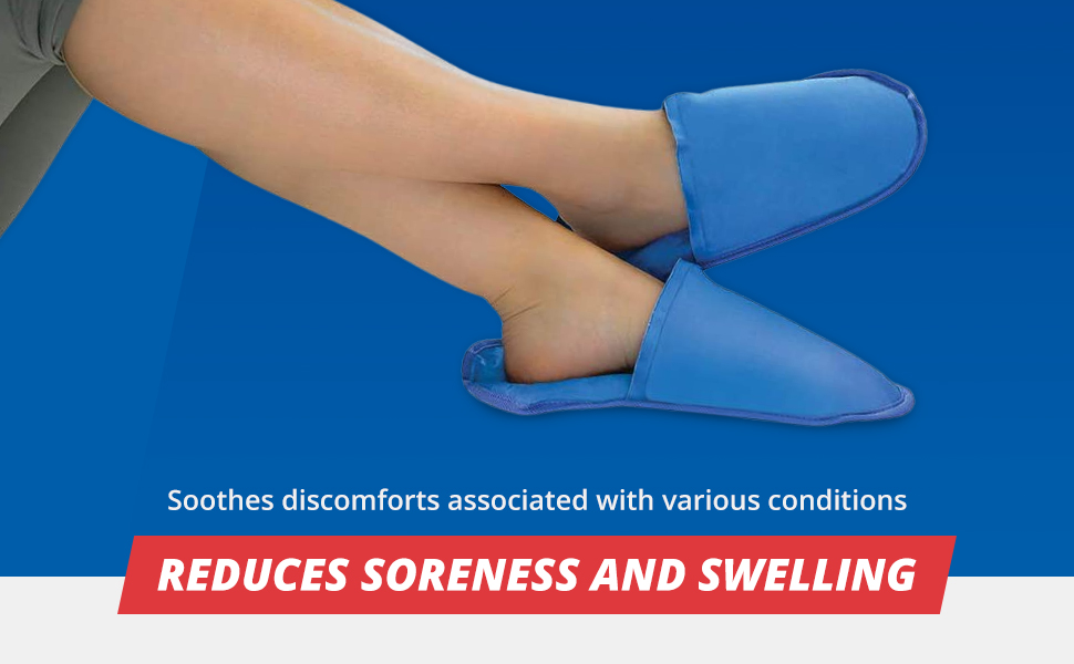 benefits of cold therapy slippers