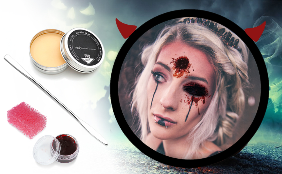 CCbeauty Stage Makeup Wax Kit