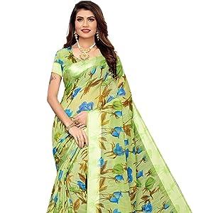 Women Silk Sraee indian traditional bridal dress