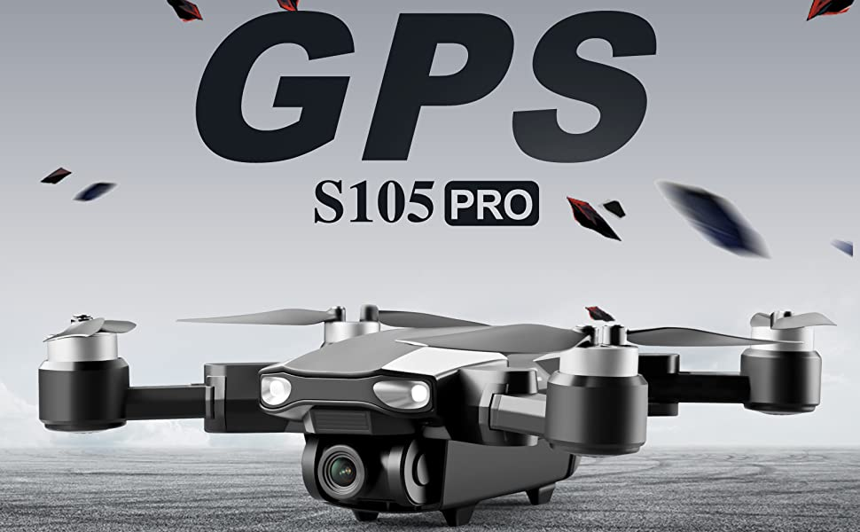 S105 Pro 4K Dual Camera Drone with GPS and 5G