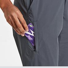 Multiple zipper pockets