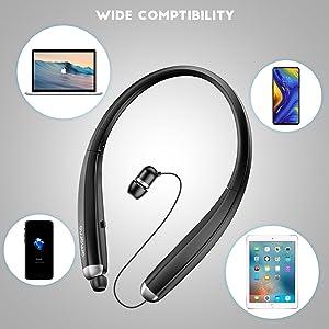 Bluetoth neckband headphones