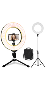 14 inch bicolor ring light