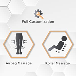Fully Customizable Roller & Airbag Massage