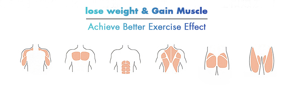 lose weight and gain muscle achieve better exercise effect
