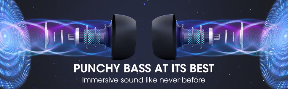 bluetooth earbuds wireless bluetooth earphones wireless charging earbuds