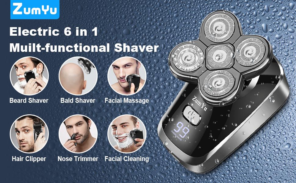 Electric razors for men