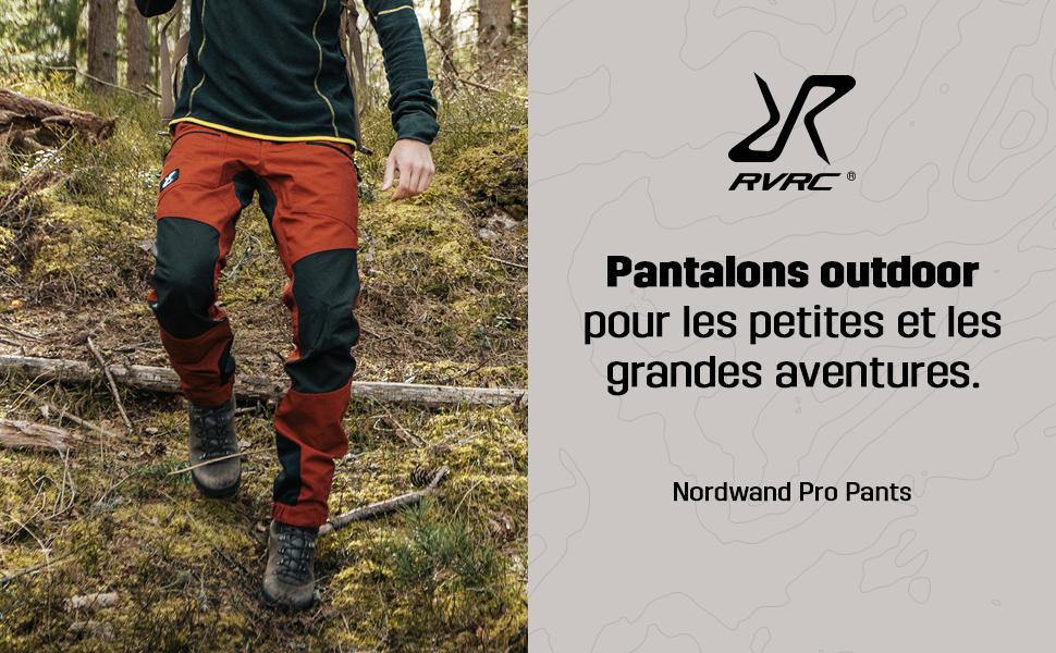 Durable pour la randonn/ée et Autres activit/és de Plein air RevolutionRace Homme Nordwand Pro Pants