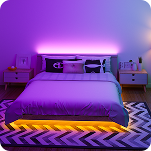 pink blue yellow colorful lights for christmas decoration valentines bedroom lighting decoration