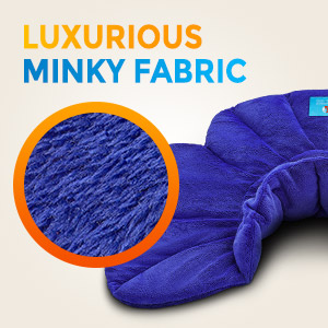 Luxurious minky fabric
