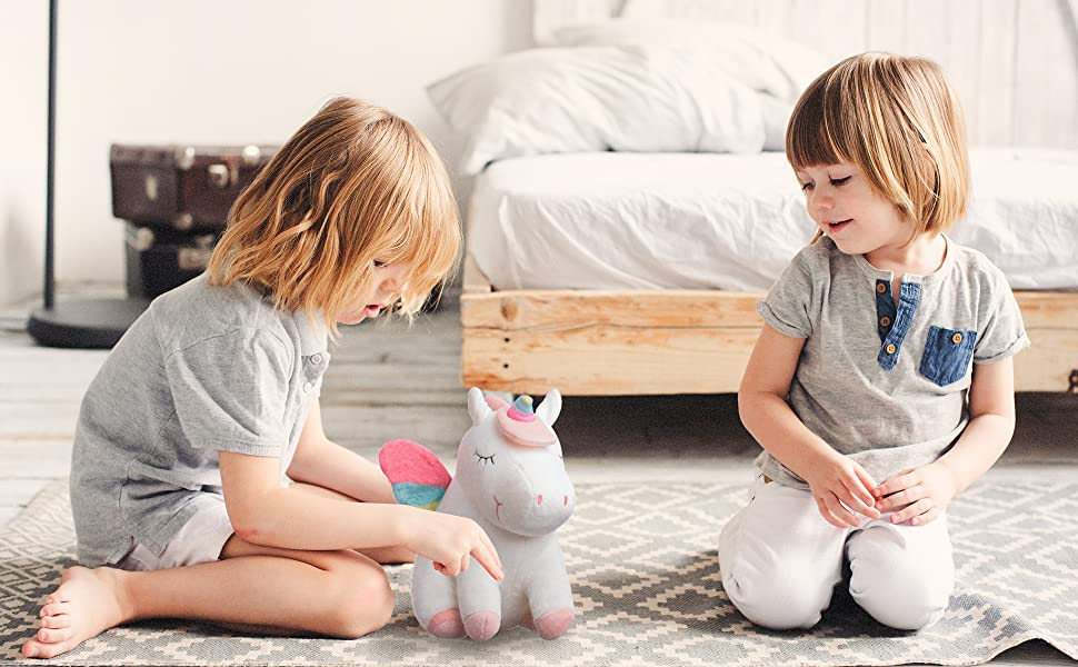 toys for siblings to play together toys for 2 year old girls twins baby gifts unicorn stuffed animal