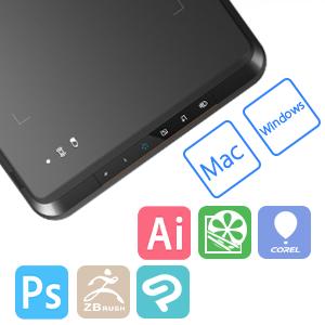 digitalizadora inalambrica  XP-Pen Star 05 V2 Inalámbrica Tableta Grafica Digitalizadora 8×5 Pulgadas 8192 Niveles Lápiz Pasivo con Teclas de Acceso Rápido 544a20f4 af54 4963 aed7 7a66ef078d8f