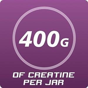 400g Creatine