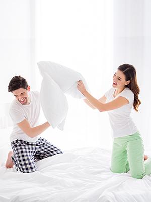 comfort memory foam pillow