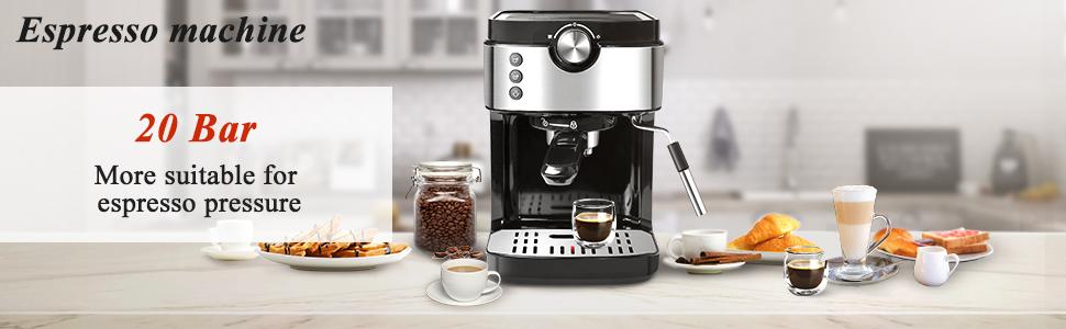 20 bar espresso machine