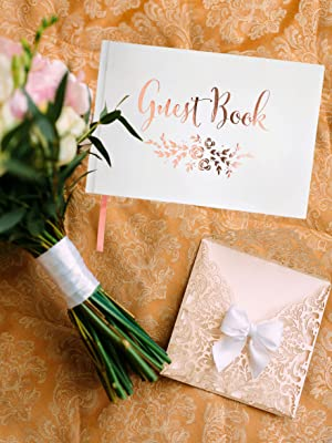 rustic wooden wood scrapbook ivory signing reception plain bridal guess picture vintage guestbooks