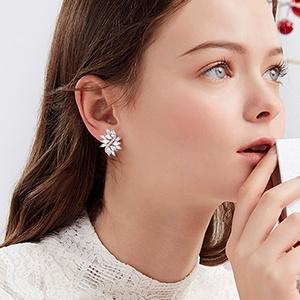 wedding earrings for bride