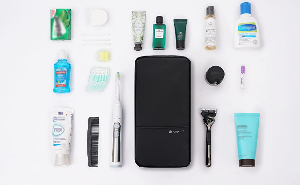 Purevave Travel toiletry bag, pouch, kit