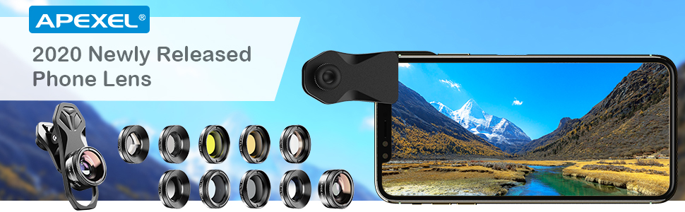 Apexel 2020 Newly Released Phone Lens