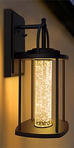 Integrated LED Wall Lantern