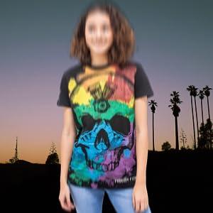 California dreamer skull