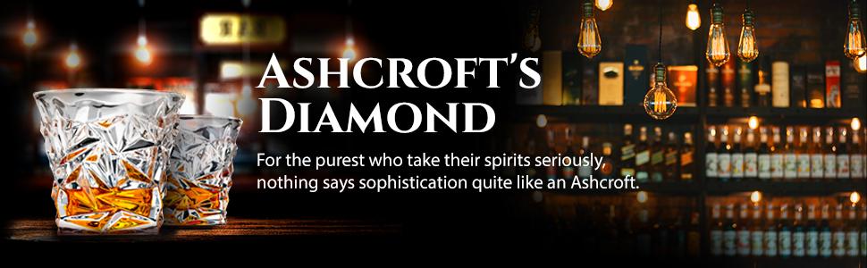 Ashcrofts Diamond glass set