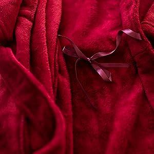 robe inside tie