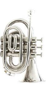 pocket trumpet MPT nickel plated