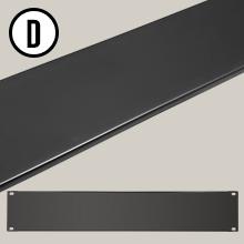 "AxcessAbles RKBLANK2U Universal 2U Blank Rack Panel Spacer for 19"" Rack Cabinet"