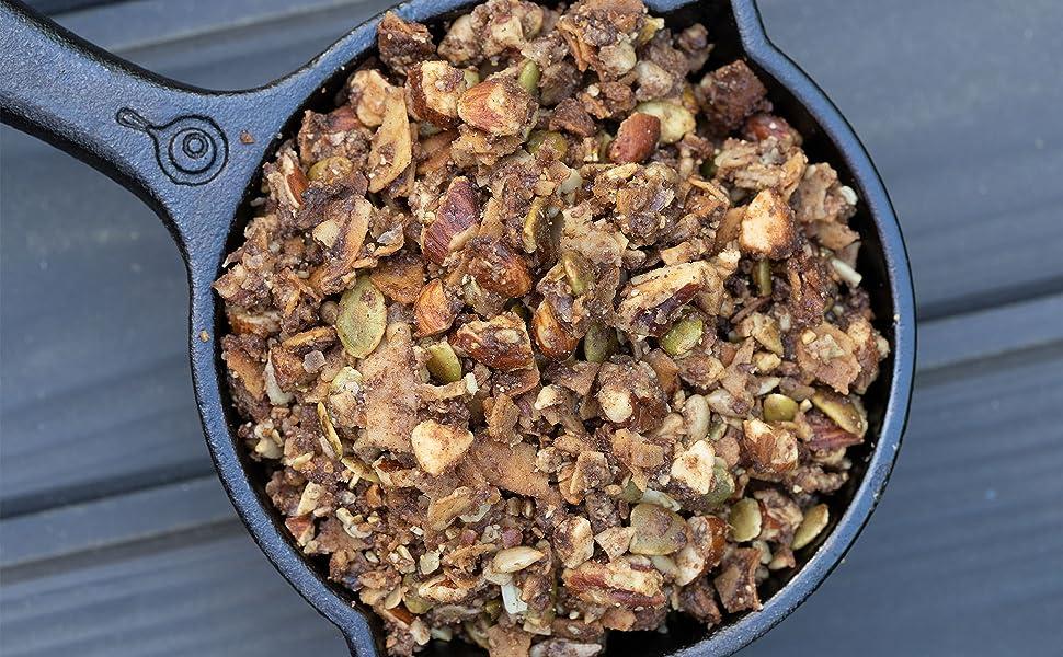 granola bakery elan cinnamon cinamon pecan keto breakfast food snack cereal ketogenic 1g carb