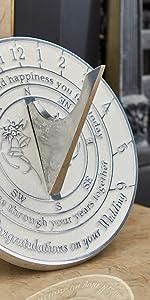 wedding gift sundial