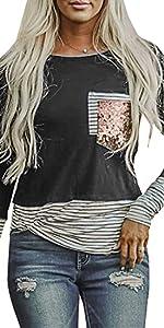 long sleeve t shirts for women