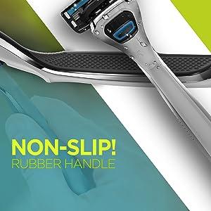 Non-Slip Rubber Handle