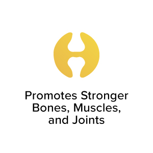 Promotes Stronger Bones, Muscles and Joints