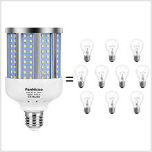 22W LED Corn Lamp B22 1800 Lumen Energy Saving Cool White 4000-4500KHLO0093