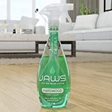 jaws floor cleaner, hardwood cleaner, nontoxic, non-toxic floor cleaner, just add water system