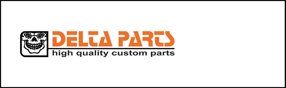 delta parts, motorrad, stoßdämpferversteller, harley-davidson