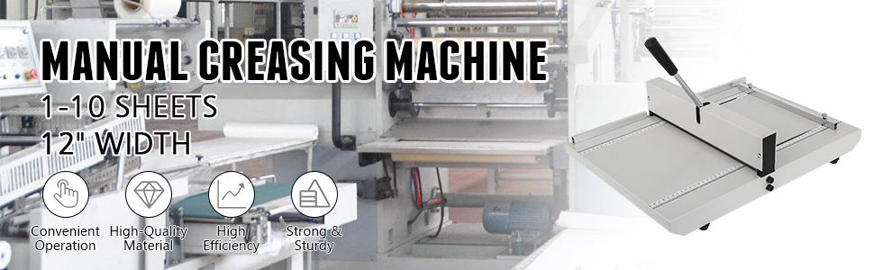 Karten Manuelle Nutmaschine 508 mm x 600 mm x 140 mm VEVOR Rillmaschine 480 mm Falzmaschine f/ür Dateien Creasing Maschine 9,5 kg B/ürobedarf und Schreibwaren mit Arbeitssparender Griff