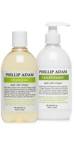 apple cider vinegar shampoo and conditioner