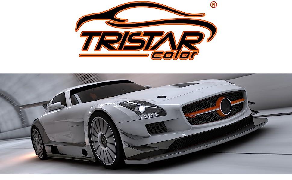 Tristarcolor Autolack Spraydosen Set Für Opel Z20r Saphirschwarz Metallic Black Sapphire Metallic Basislack Klarlack Sprühdose 400ml Auto